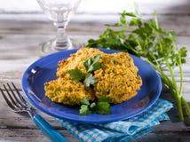 Croquete do arroz Imagens de Stock Royalty Free