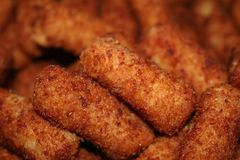 Croquette. A picture of cuban cuisine croquettes Stock Photography