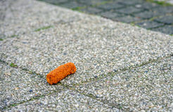 Croquette on the sidewalk Stock Photography
