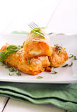 Croquettes πατατών και καρότων Στοκ φωτογραφίες με δικαίωμα ελεύθερης χρήσης