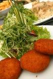 croquettes сыра Стоковое фото RF