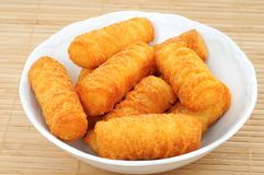 Croquettes Royalty Free Stock Photo