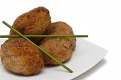 Croquettes Royalty Free Stock Images