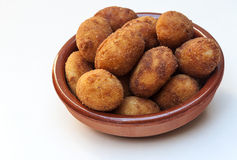 Croquettes Photo stock