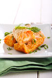 Croquettes картошки и моркови Стоковые Фото