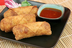 Croquettes chinoises Photo stock