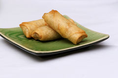 Croquettes chinoises frites photographie stock
