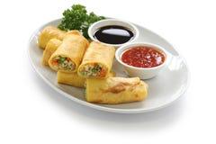 Croquettes chinoises végétariennes Photo stock