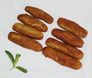 Croquettes, Croquettes food Royalty Free Stock Images
