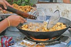 Croquettes de poisson épicées Image libre de droits