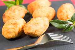 Croquettes delicious Stock Photo