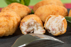 Croquettes delicious Royalty Free Stock Photos