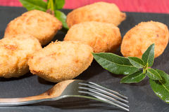 Croquettes delicious Royalty Free Stock Photo