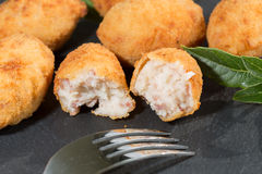 Croquettes delicious Stock Photos