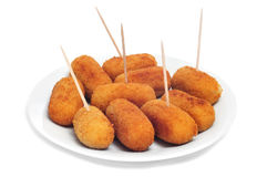 Croquettes espagnoles Photo stock