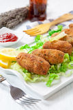 Croquettes Royalty Free Stock Image