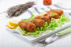 Croquettes Royalty Free Stock Photography