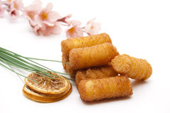 Croquettes with lemon Stock Photo