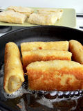 Croquettes preparation Stock Photos