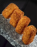 Croquettes Stock Photography