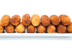 Croquettes stuffed Stock Photo