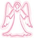 Croquis d'ange illustration de vecteur