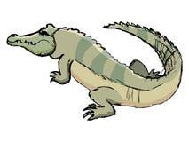 Croquis de crocodile Images stock
