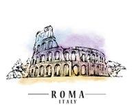 Croquis de Roma illustration stock