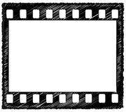 croquis de trame de 35mm Photo libre de droits