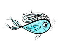Graphisme de conception de croquis de poissons photos - Croquis poisson ...