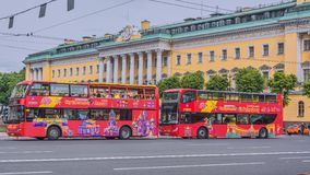 Croquis St Petersburg, Russie de ville photographie stock libre de droits