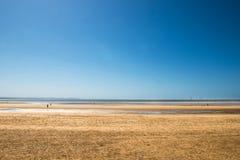 Crosby Beach near Liverpool, UK, Stock Photos