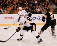 crosby pingwiny Pittsburgh Sidney Obraz Stock