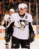 crosby pingwiny Pittsburgh Sidney Fotografia Royalty Free
