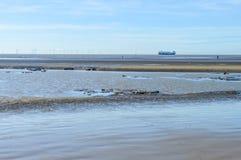 Crosby plaża Obrazy Stock