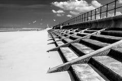 Crosby strand nordvästligt UK Arkivfoto