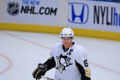 Crosby watches Stock Photography