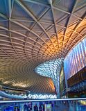 Cross国王火车站伦敦 免版税库存照片