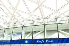 Cross国王的在伦敦 库存图片