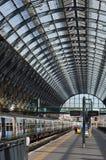 Cross国王的火车站,伦敦 免版税库存照片