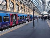 Cross国王的火车站 库存图片