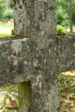CROSS. Stone cross Stock Photos