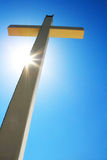 Cross. And light on it Royalty Free Stock Images