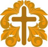 Cross. Vector illustration of ornate crosses Stock Images
