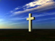 The Cross 15. This is a religious cross Stock Photography