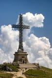 Cross. The Hero cross from Caraiman mountain Royalty Free Stock Photo