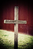 Cross. Memorial cross at the Berlin wall Royalty Free Stock Photography