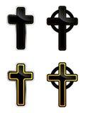 Cross. Vector Cross, Celtic, Orthodox, religion Royalty Free Stock Photography