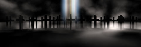 Cross. Holy cross 3d abstract religion concept Stock Photo
