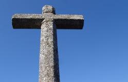 Cross. Stone cross Royalty Free Stock Image
